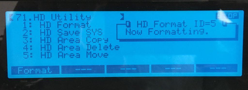 Roland W-30 HD-utility screen