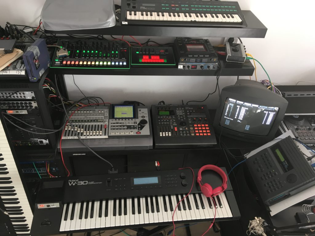 Roland W-30 and other gear