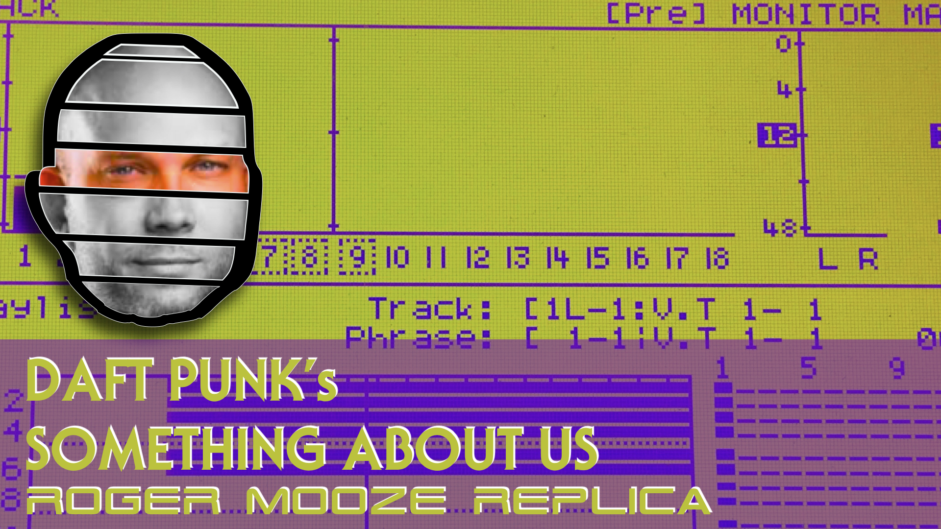Daft Punk's Something About Us - Roger Mooze Replica