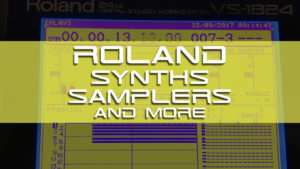 Roland - Synths, Samplers and More