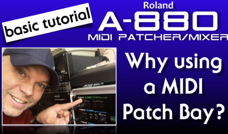 Roland A-880 Midi Patcher/Mixer