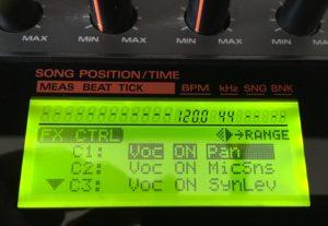 SP-808 Setting parameters