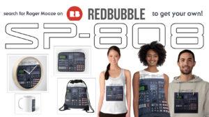 I love SP-808 (RedBubble)