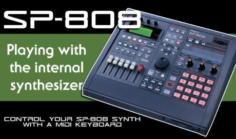 Roland SP-808 Groovesampler synthesizer