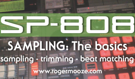 The Basics: Easy sampling with the SP-808