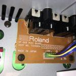Roland SP-808 MIDI board inside Roland A-6