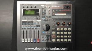 Roland A-6 VideoCanvas + Roland SP-808 Groovesampler