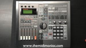 Roland SP-808 Groovesampler + Roland A-6 VideoCanvas