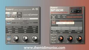 Roland A-6 / SP-808 Effect
