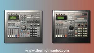 Meet the twins! Roland A-6 & Roland SP-808