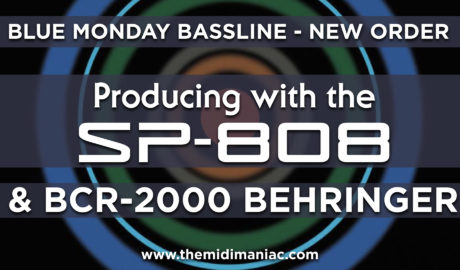 Blue Monday Bassline - New Order SP-808