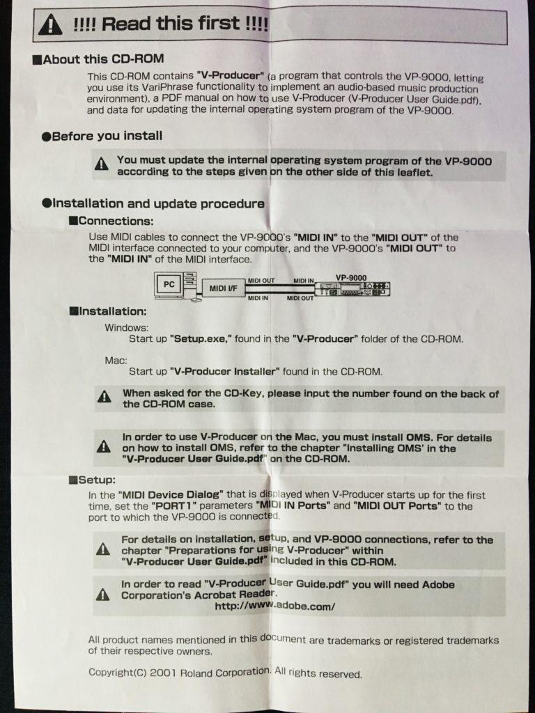 Instructions Update VP-9000_1