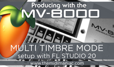 Roland MV + FL Studio 20